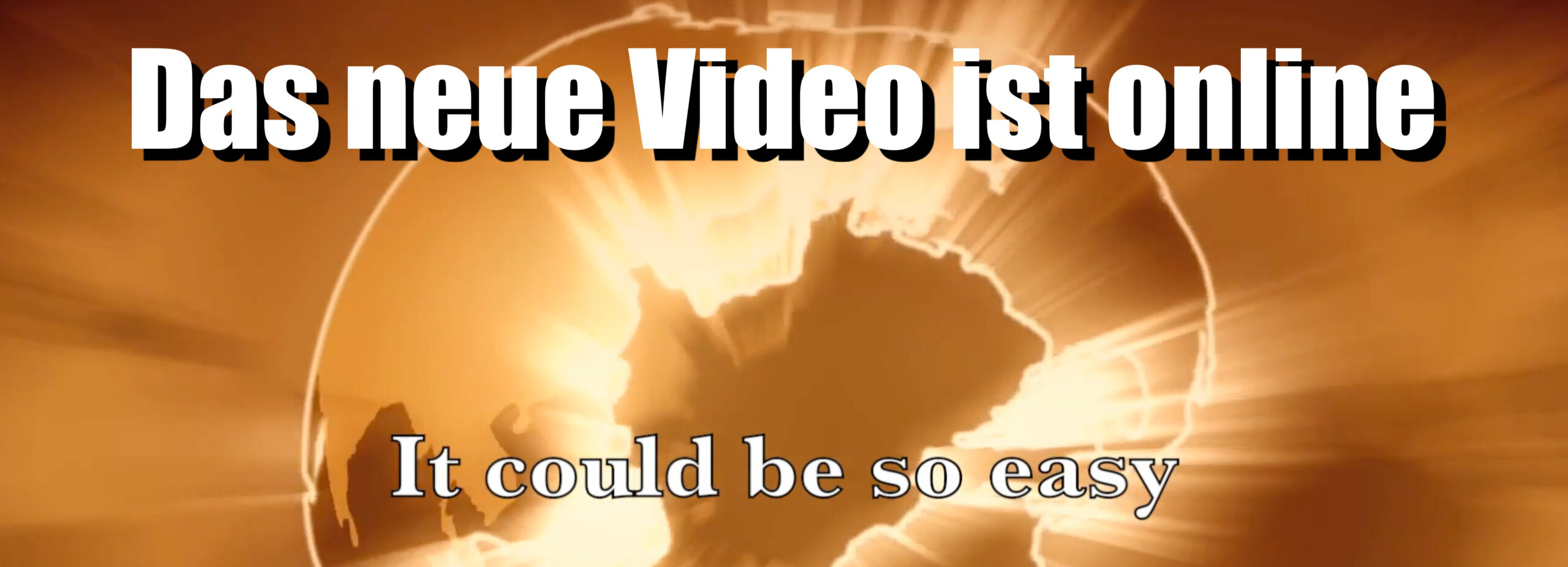 It could be so easy Video online